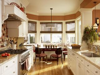 Burnt Orange kitchen