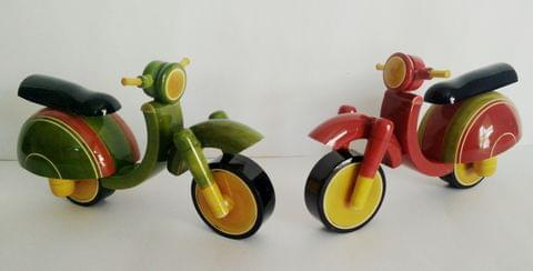kondapalli toy Scooter pair