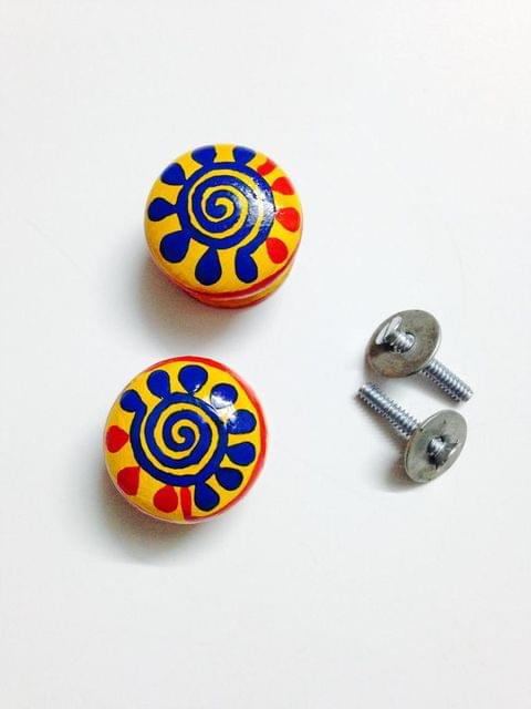 Rangeen Knobs - Set of 2