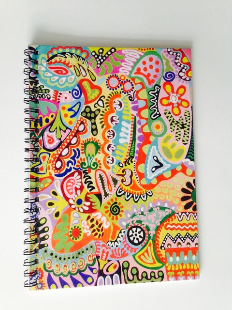 Spiral Notebook - Colorama