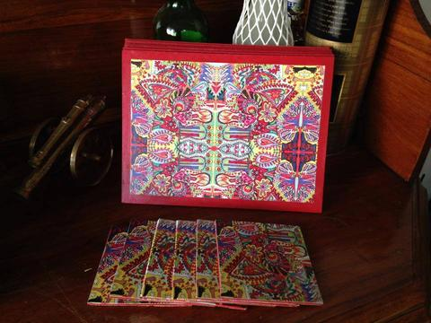 Spring-Fiesta Table Mat-Coasters Set