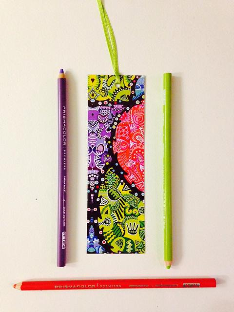Vibgyorise Bookmarks - 'Orchids'