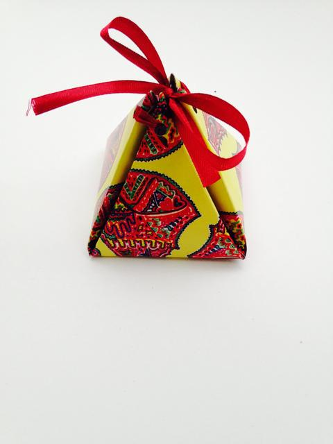 Spirited Pyramid Gift Box