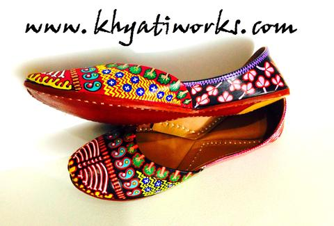 Sonam's - Handpainted Shoes