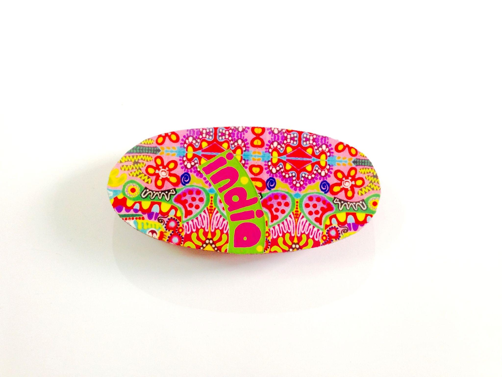 Colorama Oval India Wooden Magnet