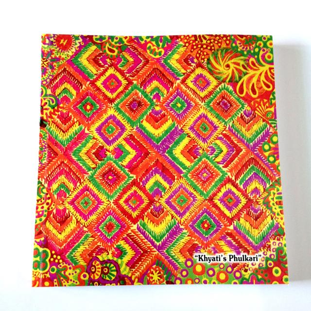 Artwork Notebooks (New!) - Khyati's Phulkari