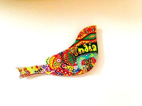 Colorama Birdie India Wooden Magnet