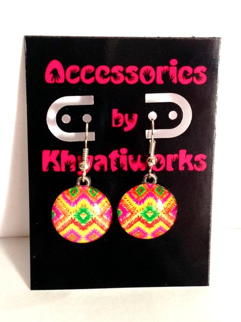 Khyati's Phulkari Series of Earrings