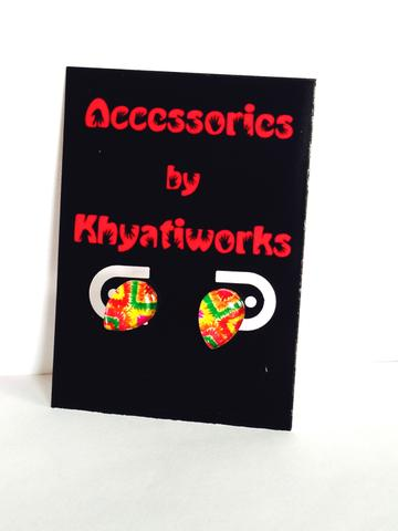 The Phulkari Series - Drop Studs