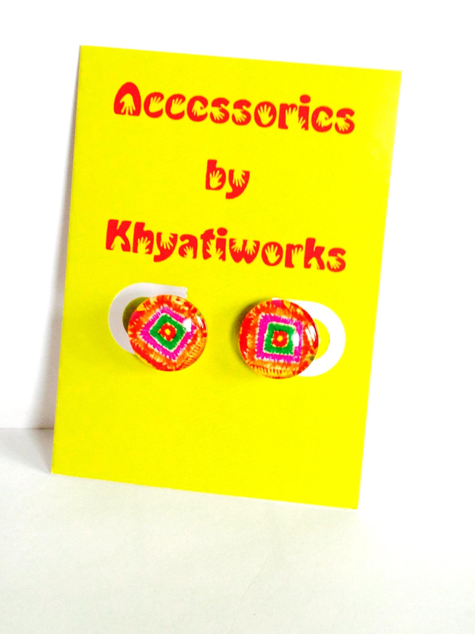 The Phulkari Series - Round Studs
