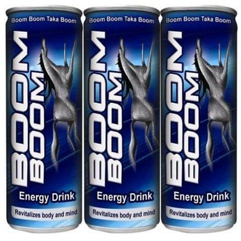 3x Boom Boom Energy Drink 250ml