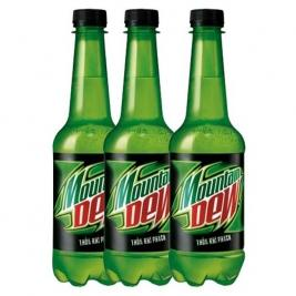 3x Mountain Dew 250ml
