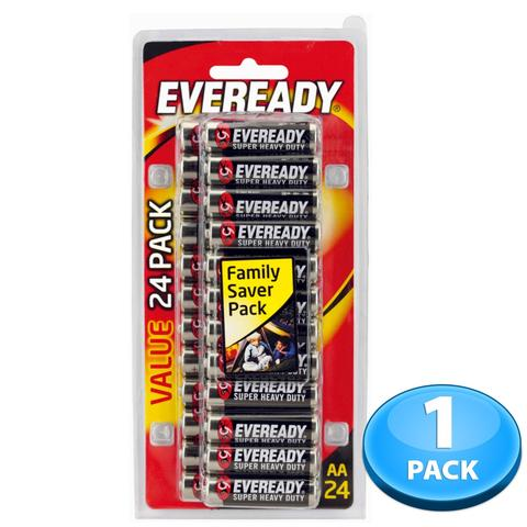Eveready Battery Medium AA 24 pcs
