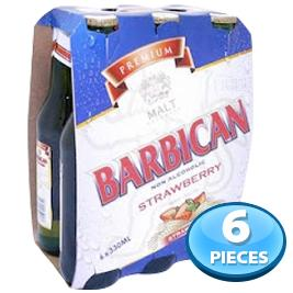 6x Barbican Strawberry Non-alcoholic Beer 330ml
