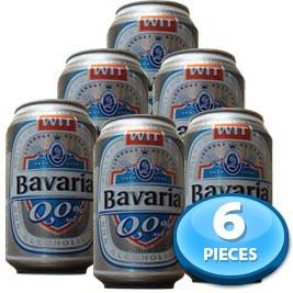 6x Bavaria Non-alcoholic Beer (Tin) 330ml