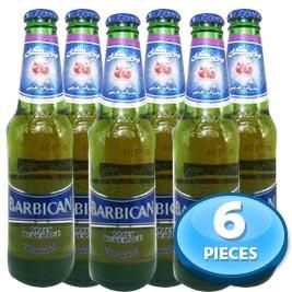 6x Barbican Pomegranate (Anar) Non-alcoholic Beer 330ml