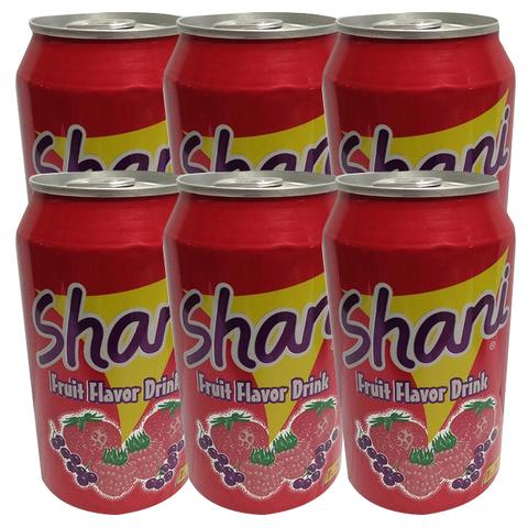 6x Shani Fruit Flavor Drink 335ml