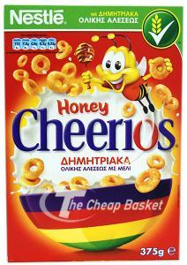 Nestle Honey Nuts Cheerios 375g