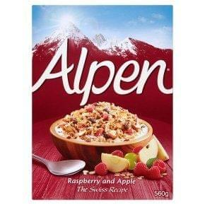 Alpen The Swiss Recipe Raspberry & Apple 560g