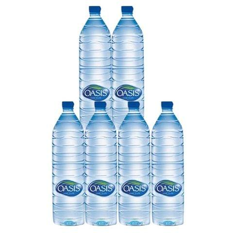 6x Oasis Mineral Water 1.5 litres