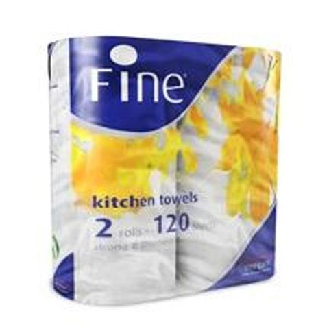 Fine Hygienic Household Kitchen Towel - 48M 2pcs Pack