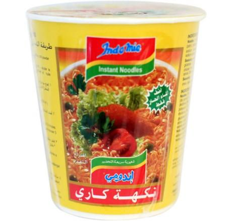 Indomie Cup Noodles Curry Flavour 60g