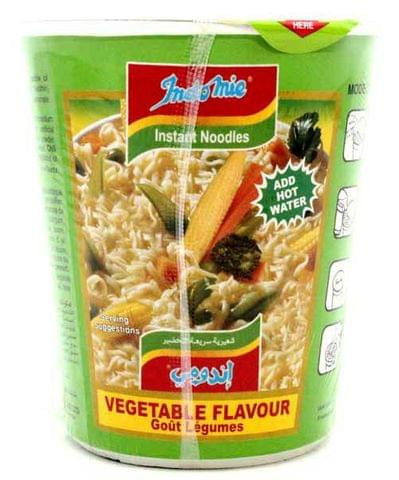 Indomie Cup Vegetable Noodles 60g