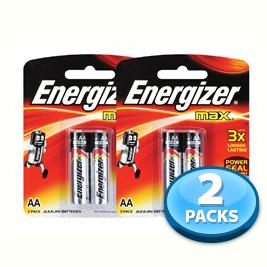 OFFER - 2x Battery Energizer (AA) 2pcs per pack
