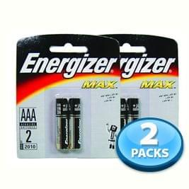 OFFER - 2x Battery Energizer (AAA) 2pcs per pack