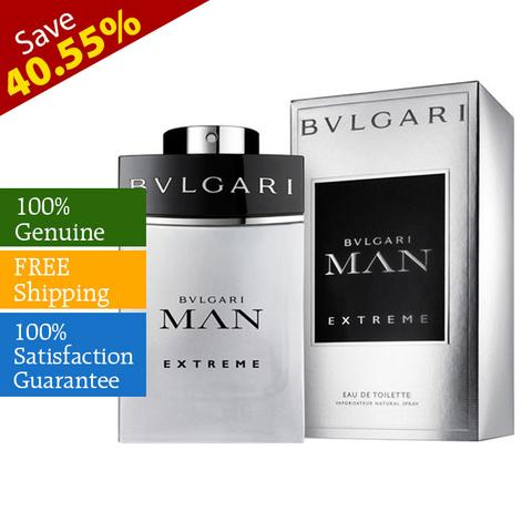 Bvlgari Man Eau De Toilette Spray for Men 100ml