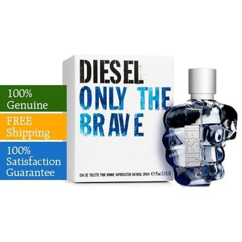 Diesel Only The Brave By Diesel For Men Eau De Toilette Spray 100ml