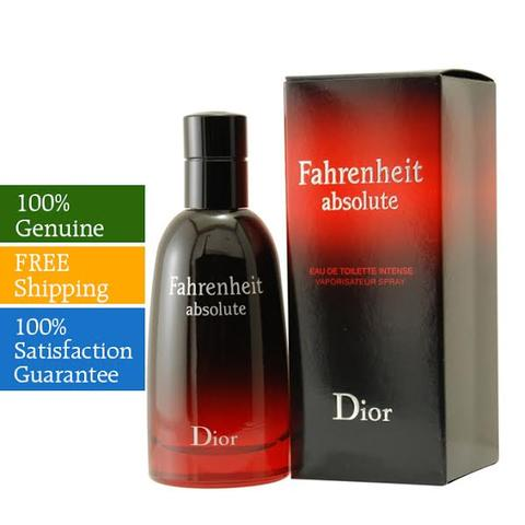 Fahrenheit By Christian Dior For Men Eau De Toilette Spray 100ml