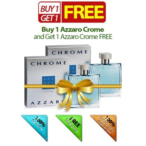 Buy 1 Azzaro Crome and Get 1 FREE