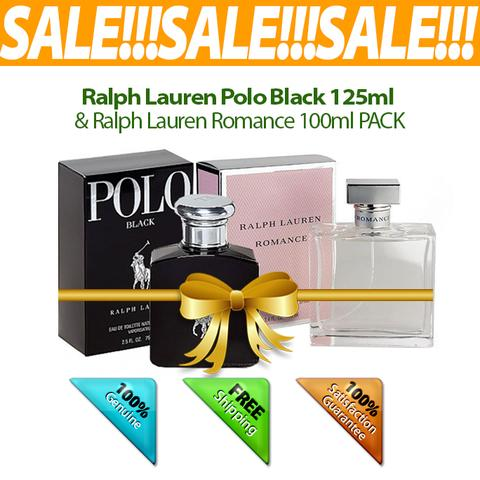 Buy 1 Ralph Lauren Polo Black 125ml & Get 1 Ralph Lauren Romance 100ml FREE