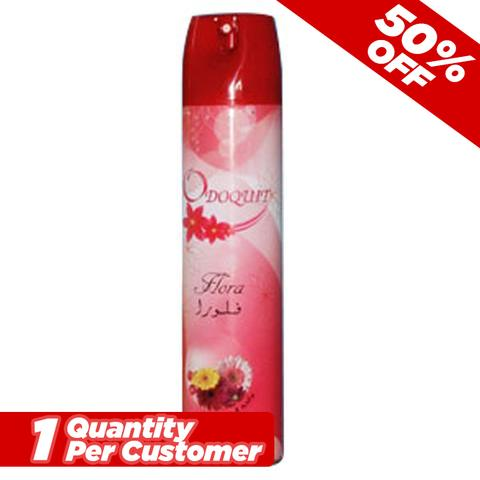 Odoquit Air Freshner Flora 300ml