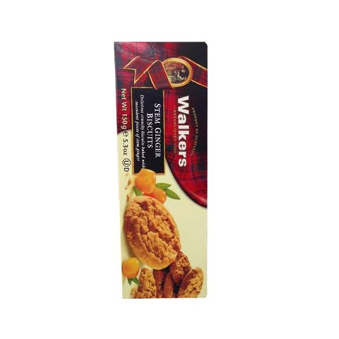 Walkers Steam Ginger Biscuits 5.3 Oz