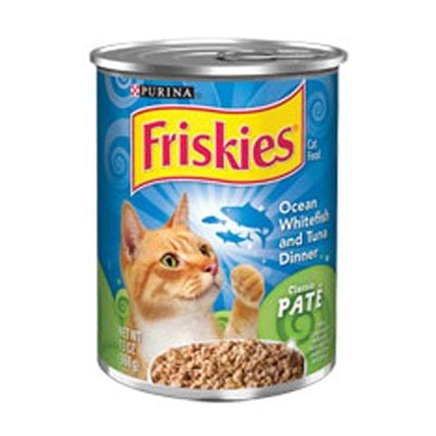 Purina Friskies Ocean Whitefish and Tuna Dinner