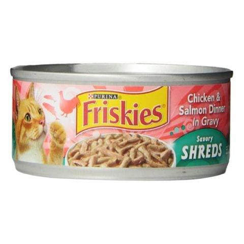 Purina Friskies Chicken and Salmon in Gravy  5.5oz