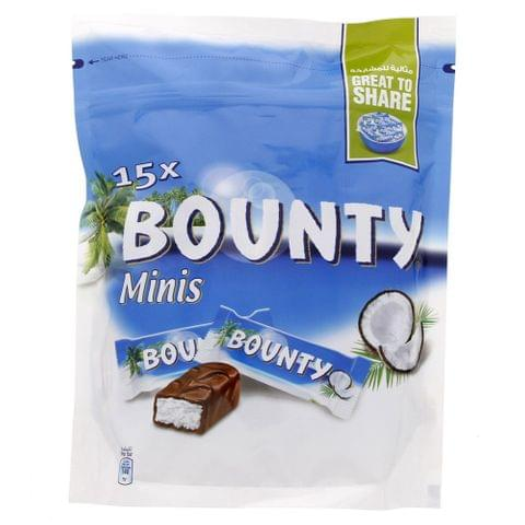 Bounty Chocolate Minis 15x - 427.5 gm