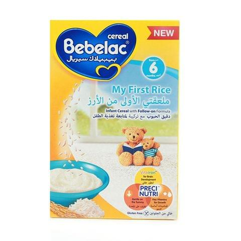 Bebelac Cereal My First Rice 125gm