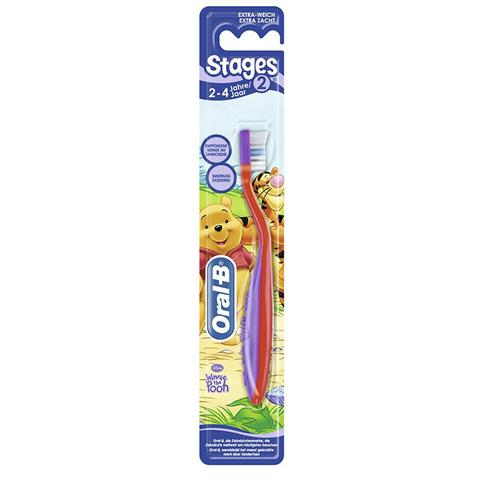 Oral-B Stage 2 Toothbrush for Children Aged 2-4 Years
