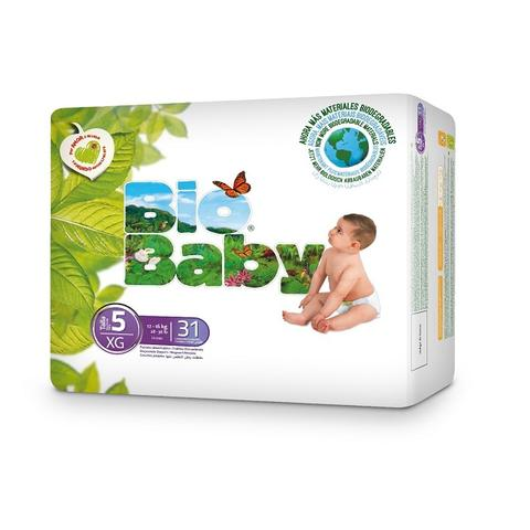 Biobaby Baby nappies no 5 12-16kg Diaper Size, 31s pack