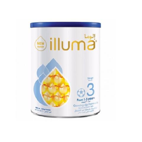 Wyeth Illuma 3 Milk Powder Can 400gm