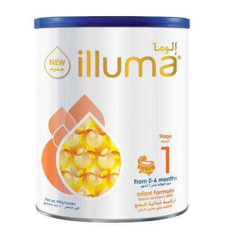 Wyeth Illuma 1 Milk Powder 400gm