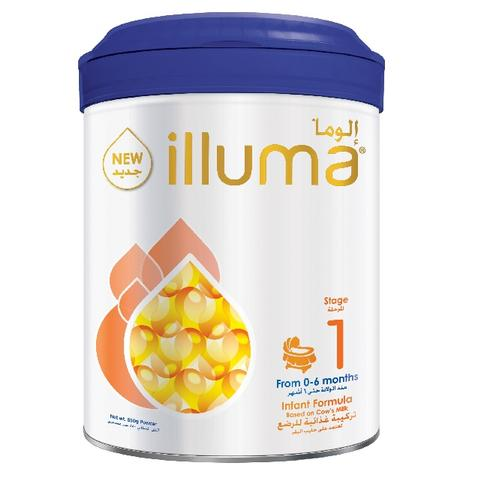 Wyeth Illuma 1 Milk Powder Can 850gm