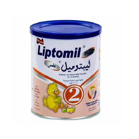 Liptomil Plus-2  6-12month 400g