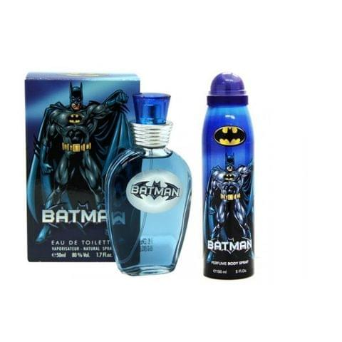 Warner Bros batman edt 50ml & body spray 150ml