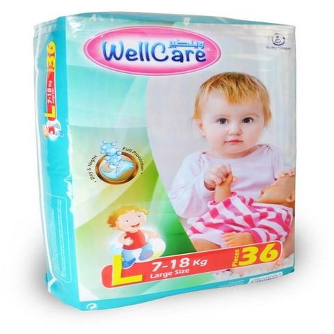 Wellcare Baby Diaper Large