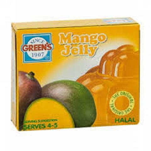 Green's  Mango Jelly - 12x80gm