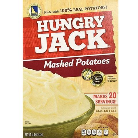 Hungry Jack Mashed Potatoes - 433gm